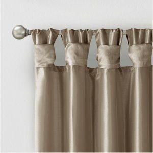 Madison Park Natalie Twist Tab Curtain- 1 panel